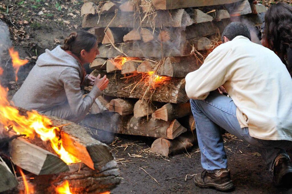 Das Feuerlaufseminar - ein Feuer um Veränderungsprozesse auszulösen