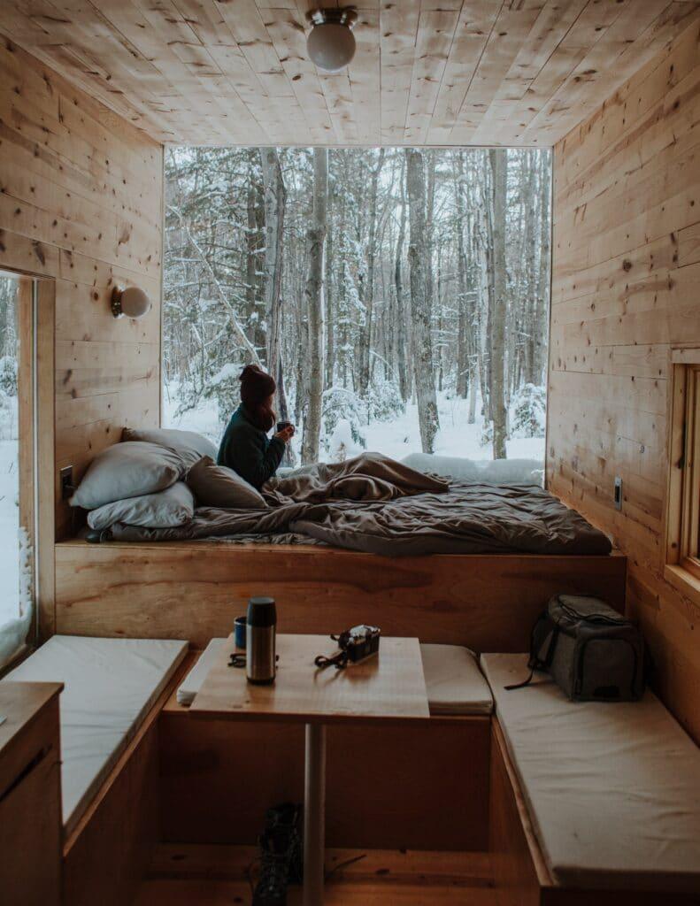 Tiny House Ferien in der Schweiz. Das bedeutet Entspannung.