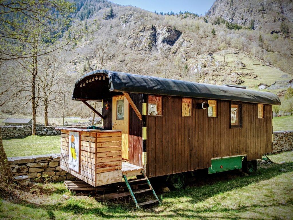 Bauwagen, Tiny House,